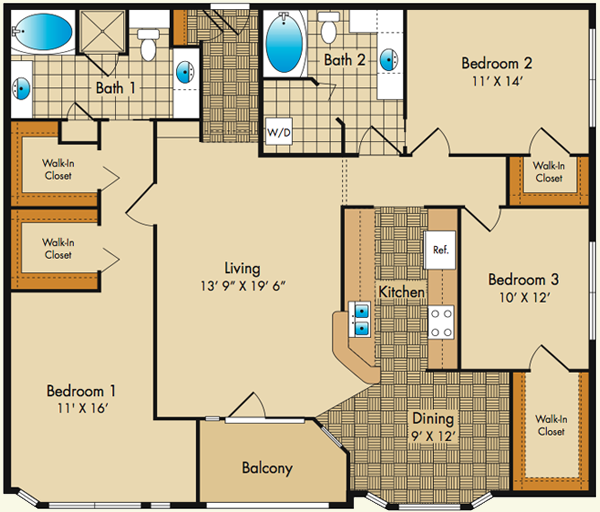 Dobson mills philadelphia luxury apartments floor plans Floor plans for apartments